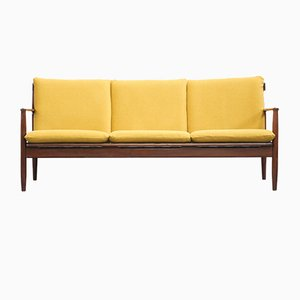 Vintage Yellow Sofa by Grete Jalk