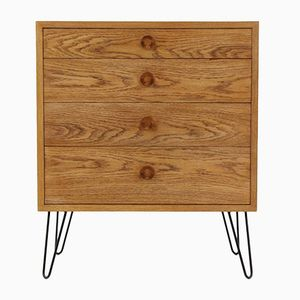 Mid-Century Oak Chest of Drawers by Borge Mogensen, 1960s