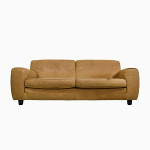Vintage Italian Leather Sofa from Molinari