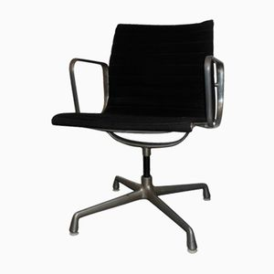 Vintage EA107 Swivel Chair by Charles & Ray Eames for Herman Miller, 1970s