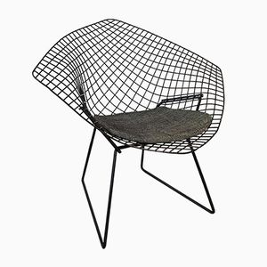 Black Diamond Chair by Harry Bertoia for Knoll, 1950s