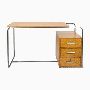 Vintage Bauhaus Schreibtisch aus Buche, 1930er