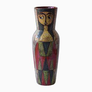 Hohe Mid-Century Vase von Marianne Starck für Michael Andersen & Son, 1960er