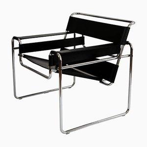 Fauteuil Wassily Bauhaus par Marcel Breuer