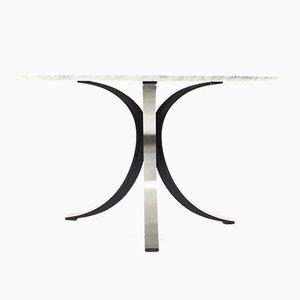 Italienischer Mid-Century Marmor Esstisch von Osvaldo Borsani für Tecno