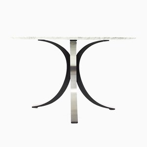 Mid-Century Italian Marble Dining Table by Osvaldo Borsani for Tecno