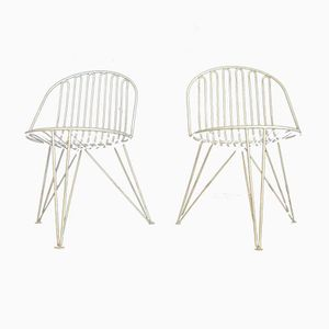Mid-Century Mauser Tripod Chairs, 1950s, Set of 2