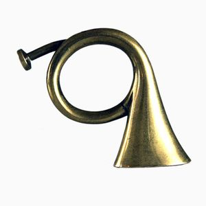 Austrian Post Horn Candle Snuffer by Auböck