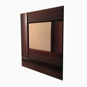 Mid-Century Italian Rosewood Mirror