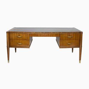 Vintage Mahagoni Schreibtisch von Josef De Coene
