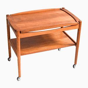 Mid-Century Danish Teak Bar Cart