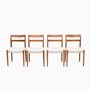 Vintage Garmi Teak Dining Chairs by Nils Jonsson for Hugo Troeds, Set of 4