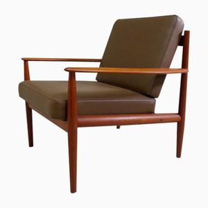 Mid-Century Danish Teak Armchair by Grete Jalk for France & Søn
