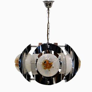 Vintage Chandelier with Murano Glass from Mazzega