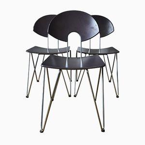 Esszimmerstühle von Kusch & Co, 1970er, 3er Set
