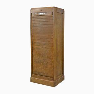 Mid-Century Tambour Cabinet