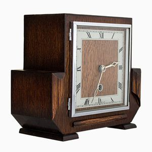 Art Deco Mantel Clock, 1950s