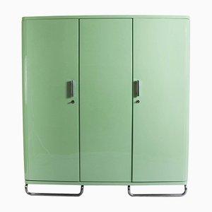 Pistaziengrüner Industrieller Kleiderschrank
