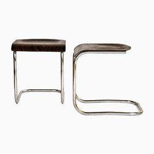Vintage Cantilever Stools by Mart Stam, Set of 2