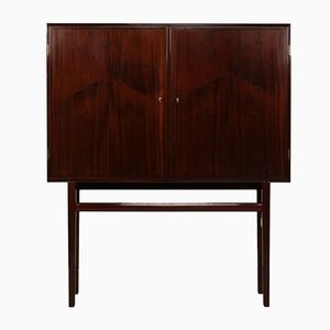 Vintage Danish Rungstedlund Mahongany Cupboard by Ole Wanscher for Poul Jeppesen