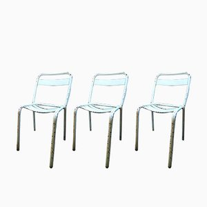 T2 Chairs by Xavier Pauchard for Tolix, 1950s, Set of 3