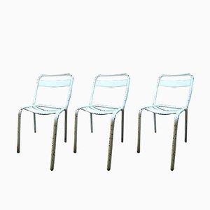 T2 Stühle von Xavier Pauchard für Tolix, 1950er, 3er Set
