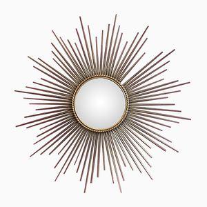 Mid-Century Sunburst Mirror from Vallauris