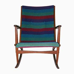 Rocking Chair par Holger Georg pour Kubus, 1958