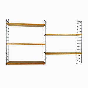 Teak Shelf by Nisse Strinning for String Design AB, 1960s