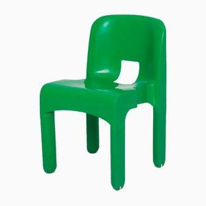 Grüner Stuhl von Joe Colombo für Kartell