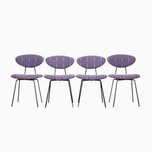 Dining Chairs by Rudolf Wolf for Elsrijk, 1950s, Set of 4