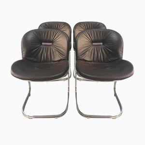 Metallstühle von Gastone Rinaldi für Rima, 1972, 4er Set