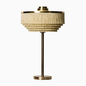 B-138 Brass and Silk Table Lamp by Hans-Agne Jakobsson