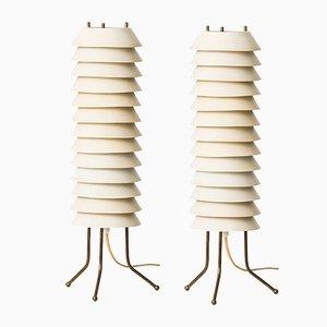 Maya the Bee Tischlampen von Ilmari Tapiovaara, 2er Set