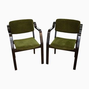 Swedish Armchairs by Jack Range for Gemla Mobler AB, 1981, Set of 2