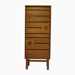 Vintage Teak & Mahogany Scandinavian Dresser