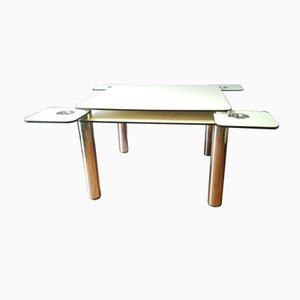 Poker Table by Joe Colombo for Zanotta, 1960s