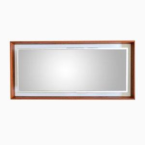 Göteborg Teak-Framed Mirror from Hillebrand, 1966