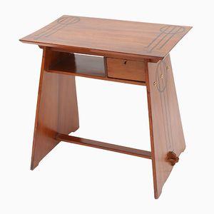 Moderner Italienischer Walnuss Schreibtisch