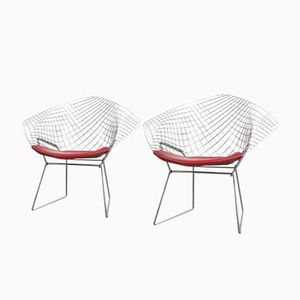 Diamond Chairs by Harry Bertoia for Decoene Knoll, 1960s, Set of 2
