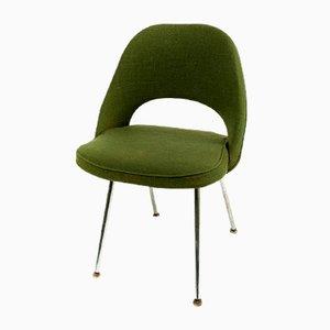 Chaise Mid-Century Executive en Vert par Eero Saarinen pour Knoll, 1958