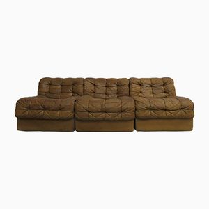 Swiss DS-11 Modular Leather Sofa from de Sede