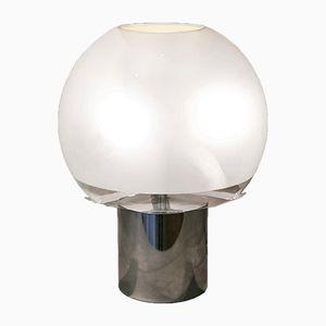 Purcino Lampe aus Metall & Glas von LC.Dominioni, 1967
