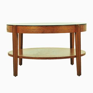 Mid-Century Smoked Glass Coffee Table from Remploy