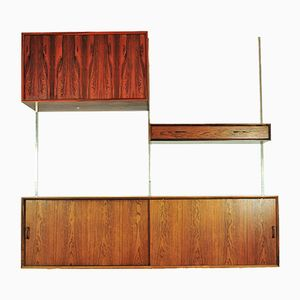 Mid-Century Rosewood Wall Unit
