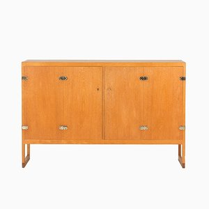BM 57 Teak Sideboard by Børge Mogensen for P. Lauritsen & Søn, 1960s