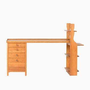 Schreibtisch aus Kiefernholz von Carl Malmsten, 1930er