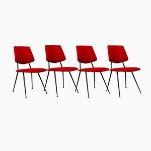 Stühle von Gastone Rinaldi, 1956, 4er Set