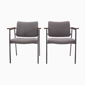 Vintage Easy Chairs by Gijs van der Sluis, Set of 2