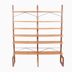 Vintage Danish Shelving Unit in Teak from Cado, 1960s